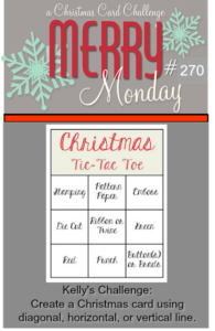 Merry Monday #270 - Christmas Tic-Tac-Toe