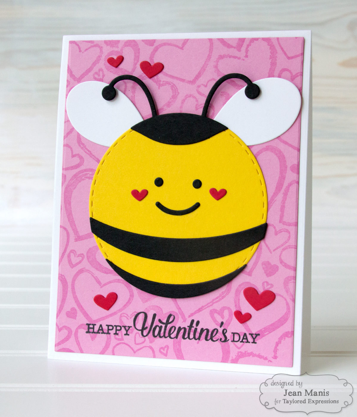 Taylored Expressions – Bee Mine! – Die-cut Valentine