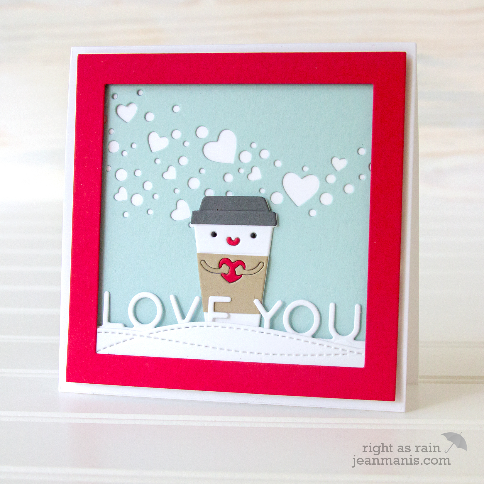 Simon Says Stamp - Die-cut Valentine