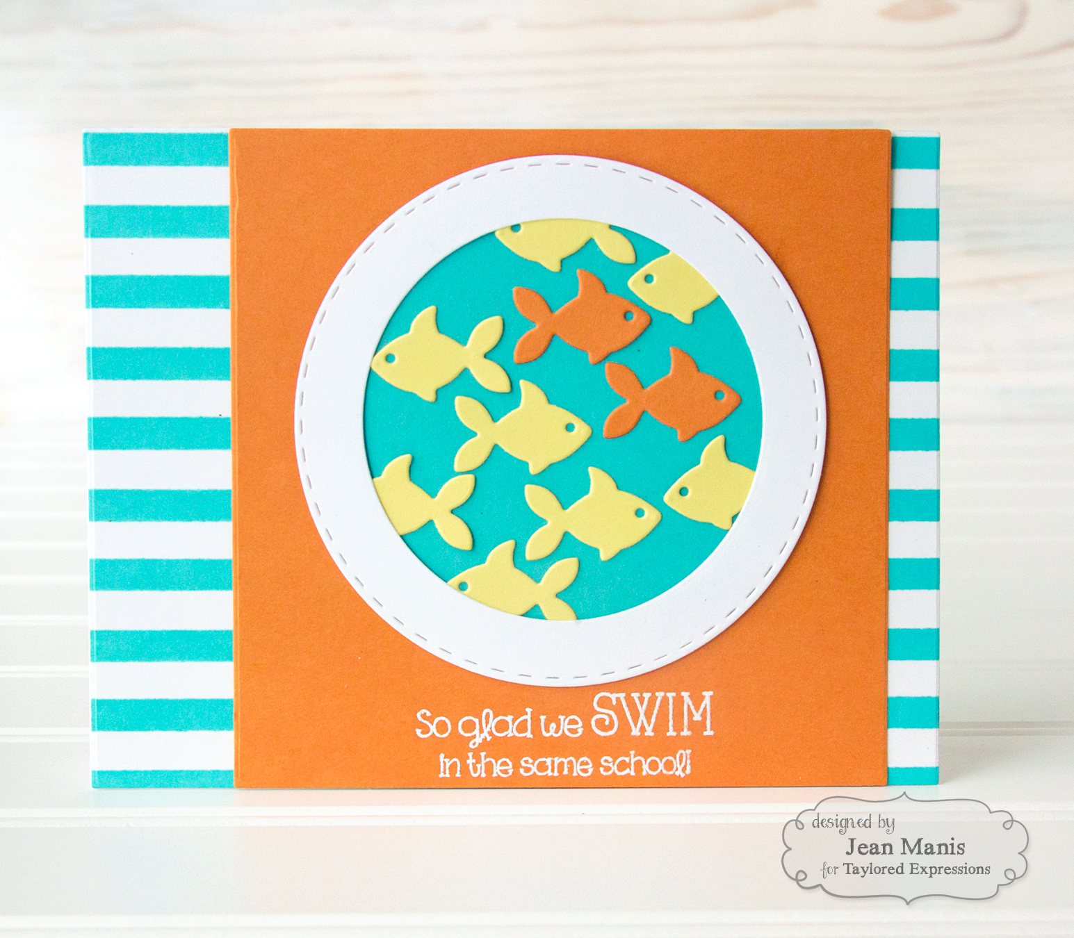 Taylored Expressions Friendship Die-cut Card