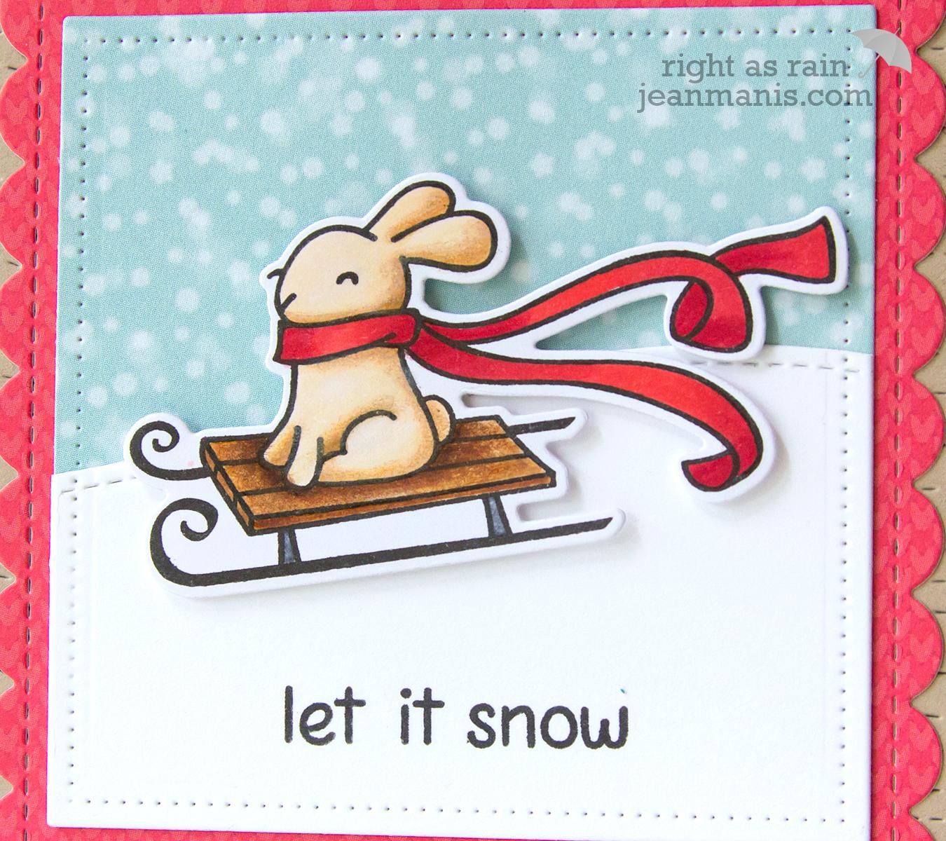 Lawn Fawn - Winter Bunny