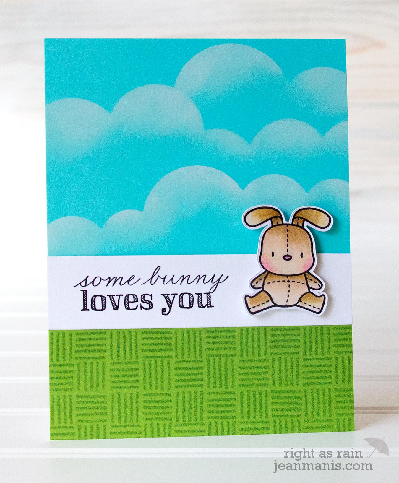 Mama Elephant CAS Easter Card