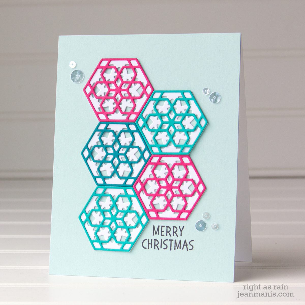 Spellbinders June Small Die Kit Club – Christmas Card